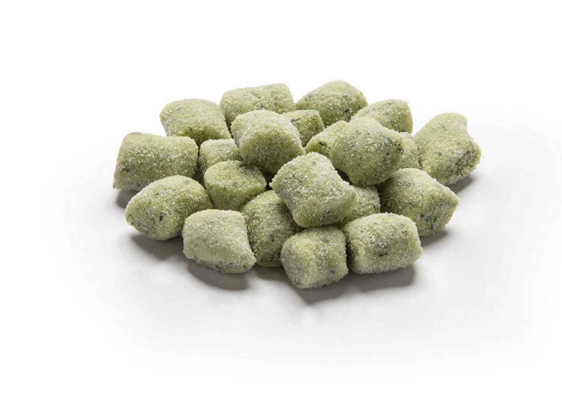 Gnocchi di Patate Casarecci verdi