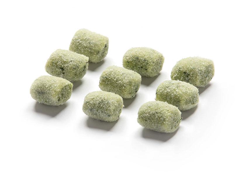 Gnocchi di Patate Casarecci verdi piccoli